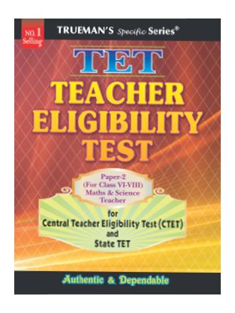 Trueman's CTET Paper 2 (Maths & Science)